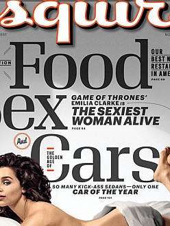 Emilia Clarke on Esquire cover