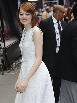 Emma Stone 'obsessed' with Broadway role