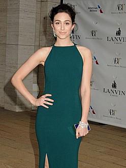 Emmy Rossum says she's not 'easy'