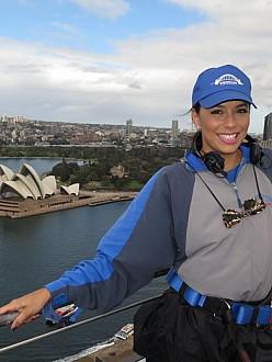 Eva Longoria in Australia
