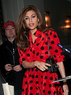 Eva Mendes reveals motherhood has brought 'wild nights'