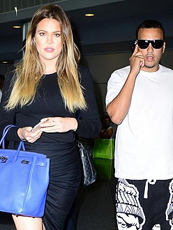 French Montana and Khloé Kardashian