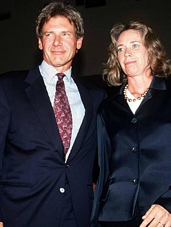 Harrison Ford and Melissa Mathison in 2006