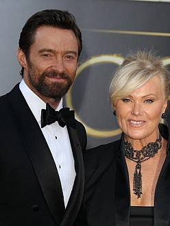 Hugh Jackman's wife slams 'lucky' tag