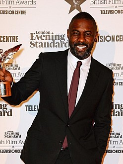 Idris Elba at the London Evening Standard British Film Awards