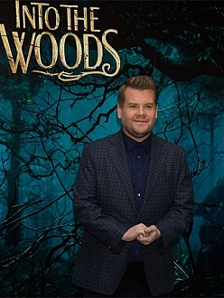 James Corden at Into The Woods photo call