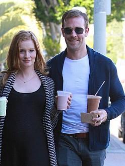 James Van Der Beek with his wife Kimberly