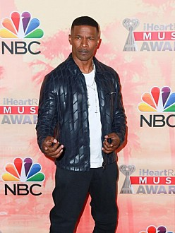 Jamie Foxx at the iHeartRadio Music Awards