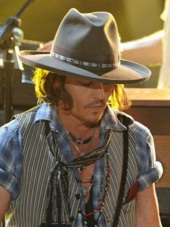 Johnny Depp at the MTV Movie Awards