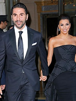Jose Baston and Eva Longoria