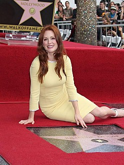 Julianne Moore receives star on Hollywood Walk of Fame