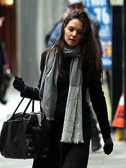 Katie Holmes pigged out during divorce