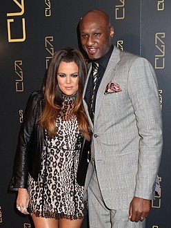 Khloe and Lamar in 2012