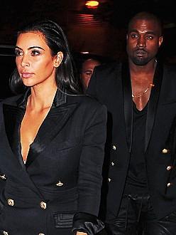 Kim Kardashian West and Kanye West