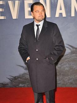 Leonardo DiCaprio at the European premiere of The Revenant in London