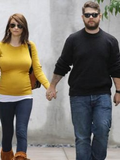Lisa Stelly and Jack Osbourne
