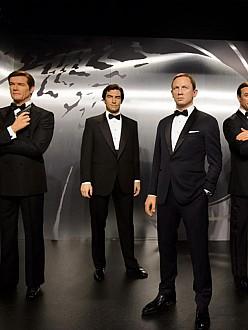 Madame Tussauds Bond waxworks