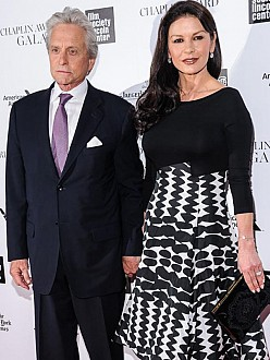 Michael Douglas and Catherine Zeta-Jones 'doing great'