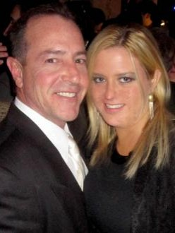 Michael Lohan and his fiance Kate Major