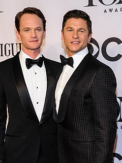 Neil Patrick Harris and his husband David Burtka