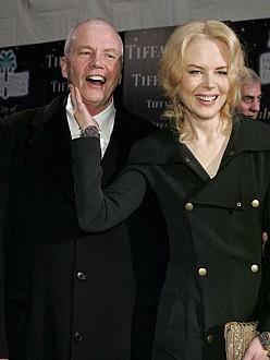 Nicole Kidman with her father, Dr Anthony Kidman