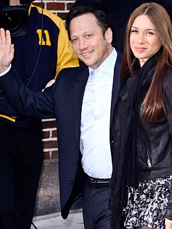 Rob Schneider and his wife Patricia Azarcoya
