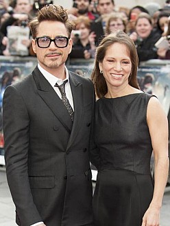 Robert Downey Jr. and wife Susan