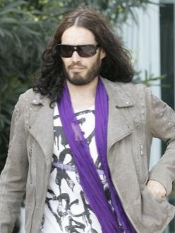 Russell Brand wants a knighthood