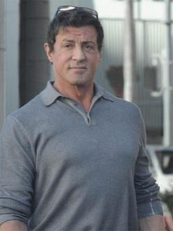 Sage`s father Sylvester Stallone