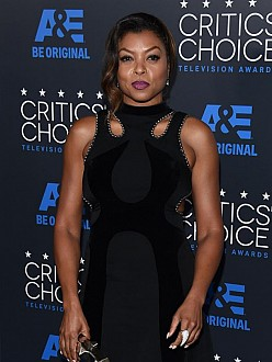 Taraji P Henson at the Critics` Choice Awards