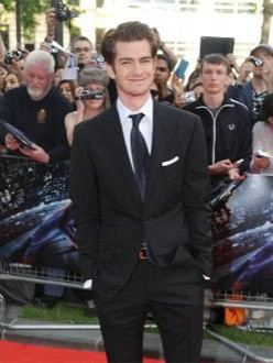 `The Amazing Spider-Man` star Andrew Garfield