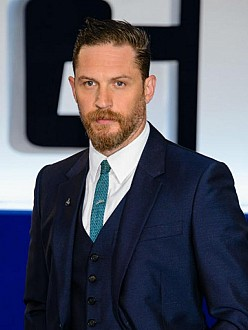 Tom Hardy at the world premiere of Legend