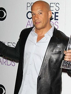 Vin Diesel at the People`s Choice Awards