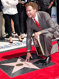 Will Ferrell receives his Hollywood Walk of Fame star