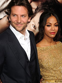 Zoe and Bradley at the premiere