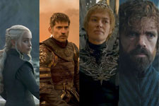 Game of Thrones Characters Who Have Survived Poster