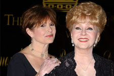 Debbie Reynolds & Carrie Fisher Poster