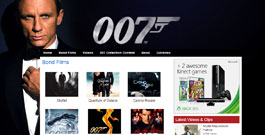 007 James Bond Films site