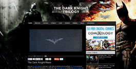 Dark Knight Trilogy movie site