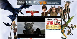 How to Train Your Dragon movie site