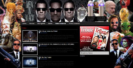 Men In Black movie site