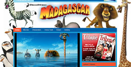 Madagascar movie site