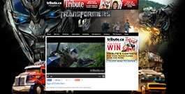 Transformers movie site