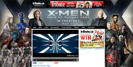 X-Men movie site