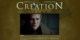 Creation movie site