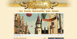 The Tale of Despereaux movie site