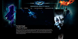 The Dark Knight movie site