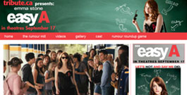 Easy A movie site