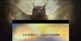 Legend of the Guardians movie site