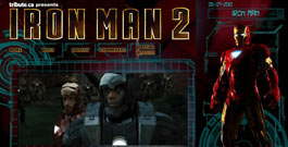 IRON MAN 2 movie site